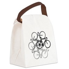 Bicycle circle Canvas Lunch Bag