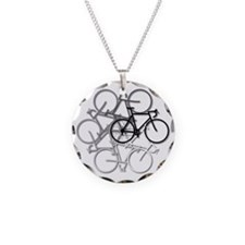 Bicycle circle Necklace