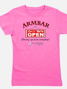 Armbar - we are open Girl's Tee