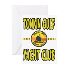TONKIN GULF YACHT CLUB Greeting Card