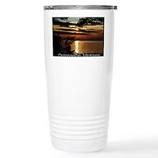 Ontonagon, Michigan Sunset Travel Mug