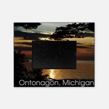 Ontonagon, Michigan Sunset Picture Frame