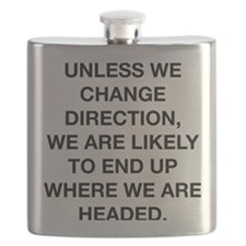 where we are headed chinese proverb center Flask