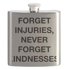 never forget kindness chinese proverb center Flask