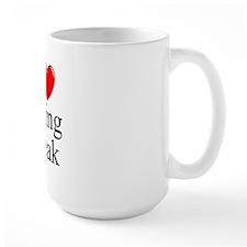"""""""I Love (Heart) Spring Break"""" Mug"""