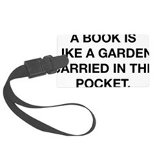 a garden in the pocket chinese p Luggage Tag
