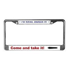 Dadgum It License Plate Frame