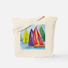 Colorful Sails Tote Bag