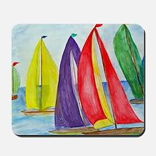 Colorful Sails Mousepad