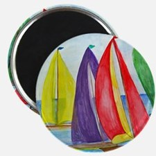 Colorful Sails Magnet