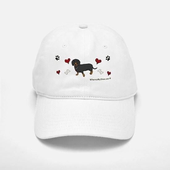 dachshund  - other breeds w/this design Baseball Baseball Cap