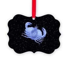 Image of Astrology sign, Cancer,  Ornament