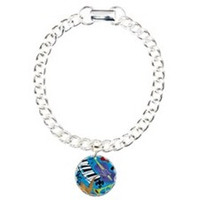 Jazz on Blue Bracelet