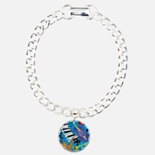Jazz on Blue Bracelet