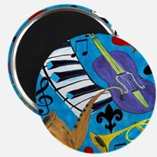 Jazz on Blue Magnet
