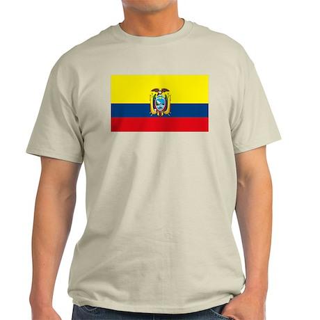 Ecuador Flag Light T-Shirt
