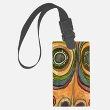 African Mask #6 Luggage Tag