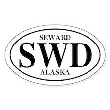 Seward Oval Decal