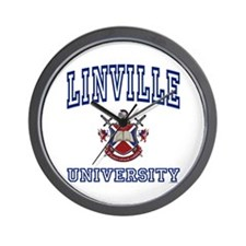 LINVILLE University Wall Clock
