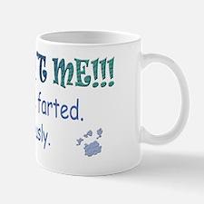 yorkie farted - more breeds Mug