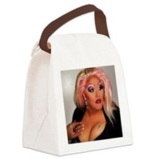 MiMi Welch - The House Down Boots Canvas Lunch Bag