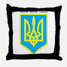 UKRAINA Throw Pillow