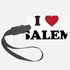 I Love Salem Oregon Luggage Tag
