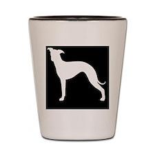 italgreyhoundpatch Shot Glass