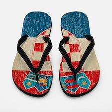 Vintage Croatia Flip Flops