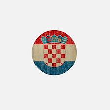 Vintage Croatia Mini Button