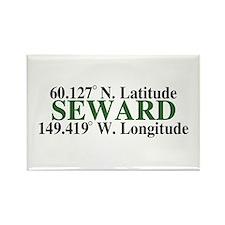 Seward Latitude Rectangle Magnet (10 pack)