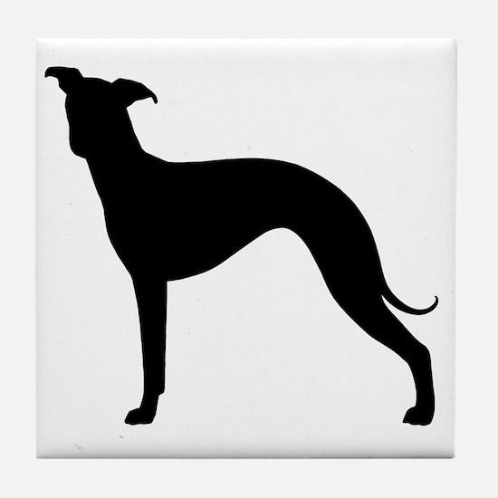 Italian Greyhound Tile Coaster