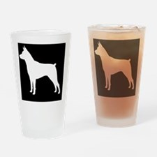 Min Pin Patch Drinking Glass