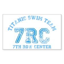 Titanic Swim Team Decal