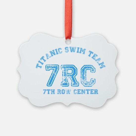 Titanic Swim Team Ornament