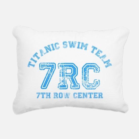 Titanic Swim Team Rectangular Canvas Pillow