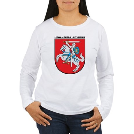 LITHUANIA Women's Long Sleeve T-Shirt