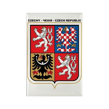 CZECH REPUBLIC Rectangle Magnet