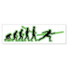 Fencing4 Bumper Sticker