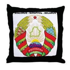 BELARUS Throw Pillow
