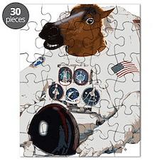 Horsemask Astronaut Puzzle