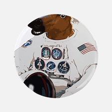 """Horsemask Astronaut 3.5"""" Button"""