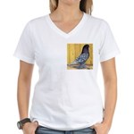 Andalusian Mottle West Women's V-Neck T-Shirt