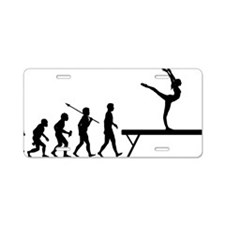 Gymnastic---Balance-Beam Aluminum License Plate