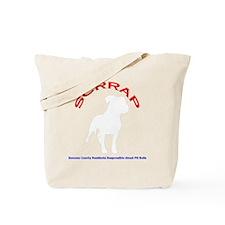 Logo Design Larger Dark Tote Bag