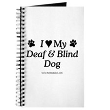 Love My Deaf & Blind Dog Journal