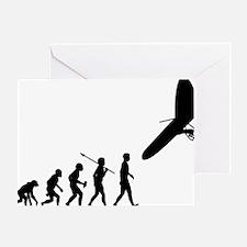 Hang-Gliding Greeting Card