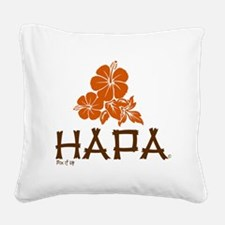 Hapa Square Canvas Pillow