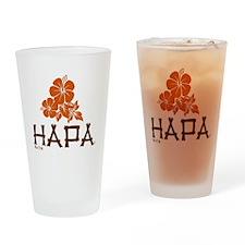 Hapa Drinking Glass