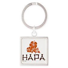 Hapa Square Keychain